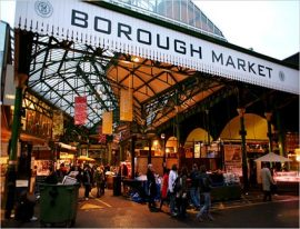 Borough Market, part of the Hidden London tour by Guidelines to Britain