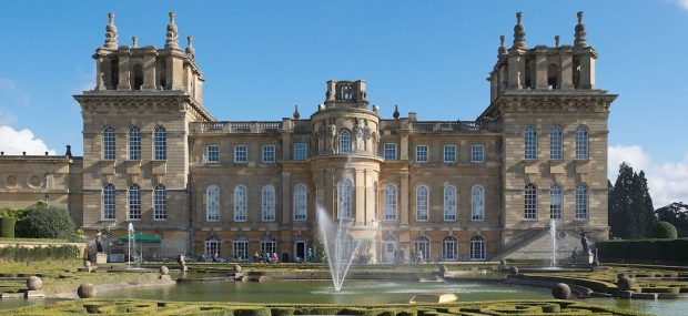 Blenheim Palace from the Water Terraces. Photo Credit: © Durova via Wikimedia Commons