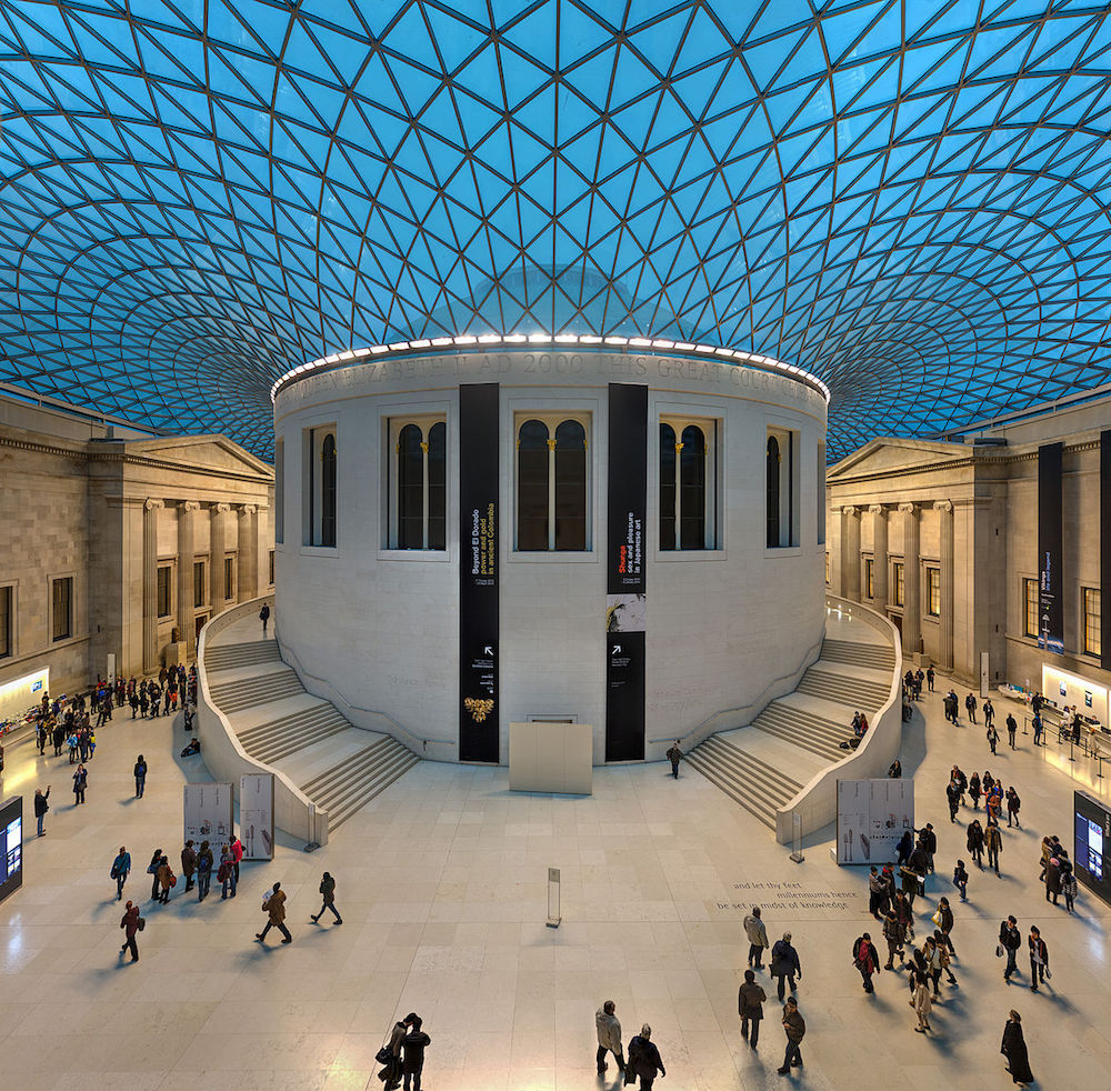 The Great Court at the British Museum in London. Photo Credit: © Diliff via Wikimedia Commons.