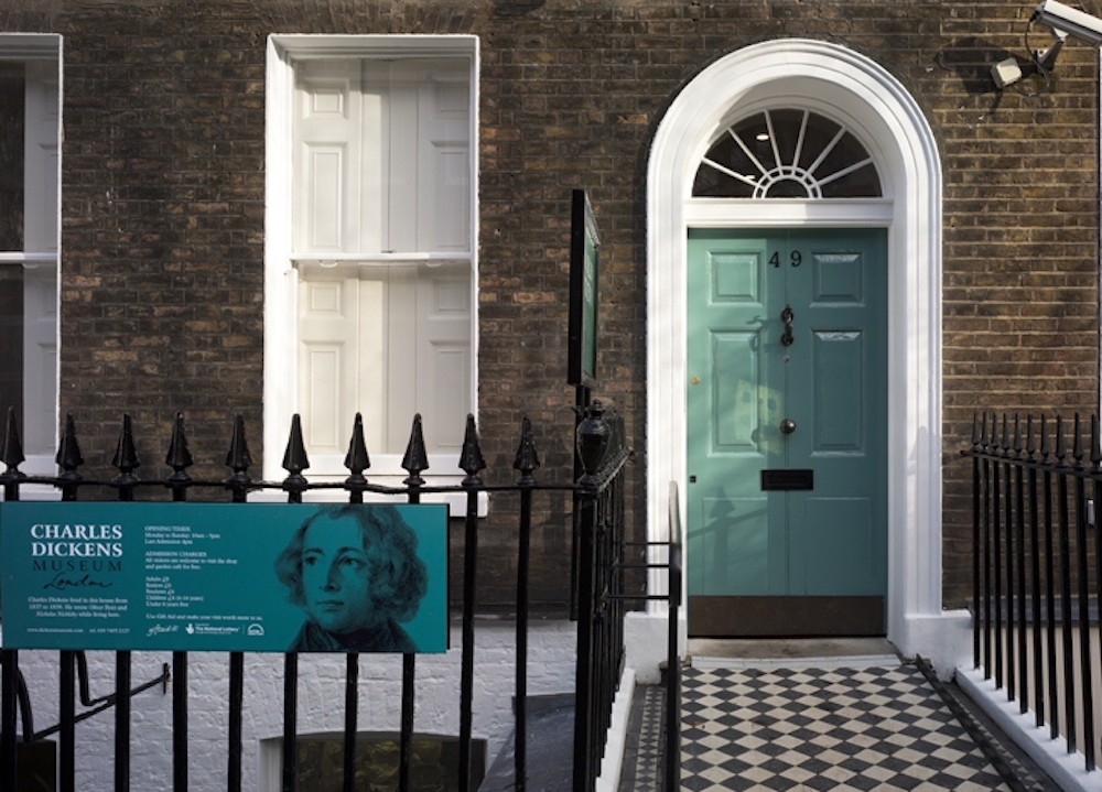 Charles Dickens Museum in London. Photo Credit: © Dickens Museum via Wikimedia Commons.