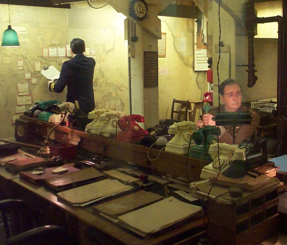 The Map Room in the Churchill Museum and Cabinet War Rooms. Photo Credit: © Kaihsu Tai via Wikimedia Commons.