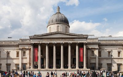 National Gallery in London. Photo Credit: © Diego Delso via Wikimedia Commons.