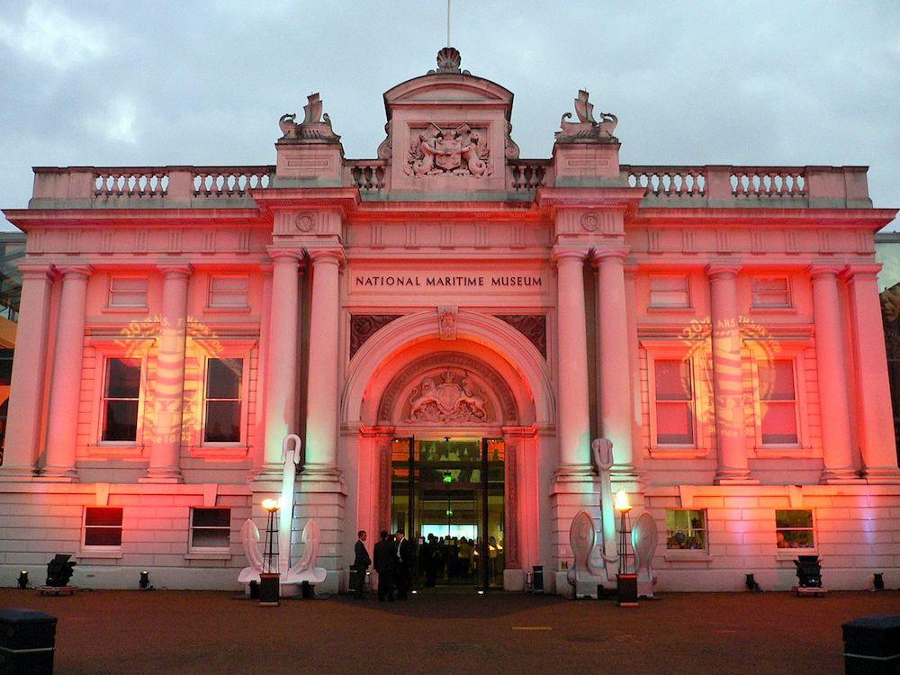 National Maritime Museum Greenwich. Photo Credit: © Wolfiewolf / Herry Lawford via Wikimedia Commons.