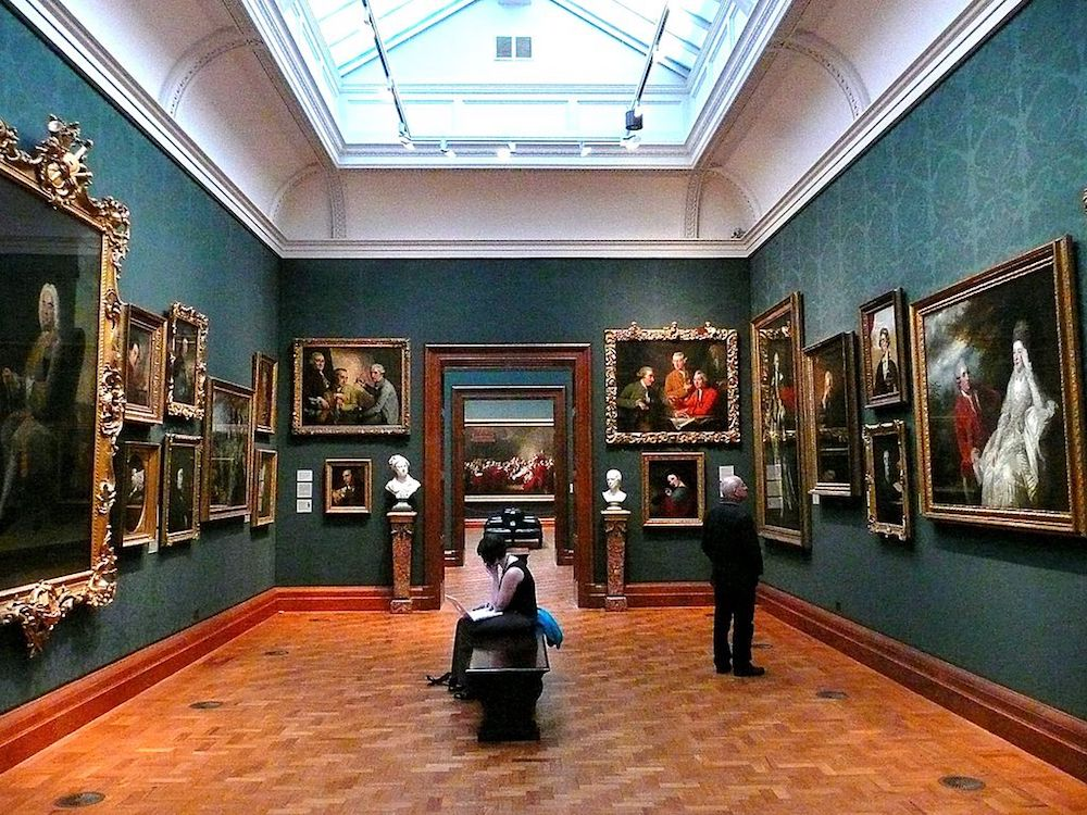 National Portrait Gallery in London. Photo Credit: © Herry Lawford via Wikimedia Commons.