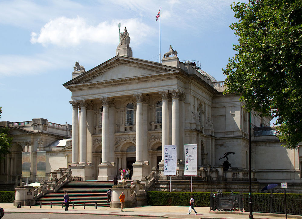 Tate Britain in London. Photo Credit: © Tony Hisgett via Wikimedia Commons.