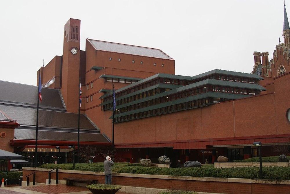 The British Library in London. Photo Credit: © TxllxT via Wikimedia Commons.
