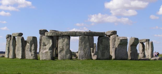 Stonehenge is a prehistoric monument. Photo Credit: © Gareth Wiscombe via Wikimedia Commons.