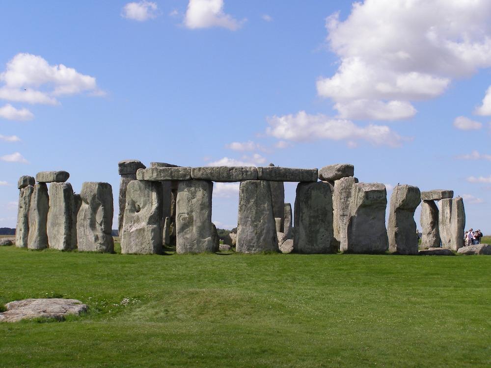 Stonehenge is a prehistoric monument. Photo Credit: © Gareth Wiscombe via Wikimedia Commons.