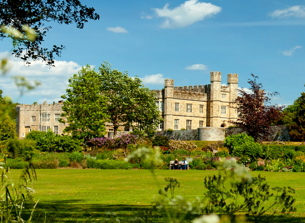 Gardens at Leeds Castle. Photo Credit: © Leeds Castle.