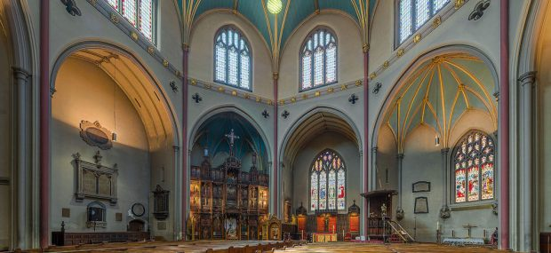 Interior of St. Dunstan in the West Church in London. Photo Credit: ©  Diliff via Wikimedia Commons.