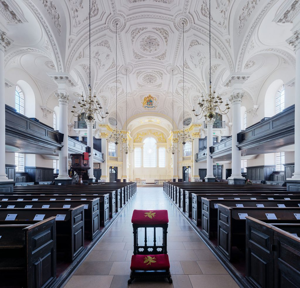 St Martin-in-the-Fields Church in London. Photo Credit: © Diliff via Wikimedia Commons.