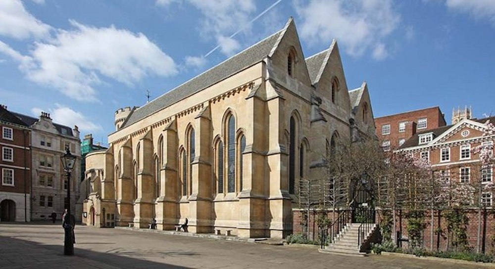 Temple Church in London. Photo Credit: © John Salmonj via Wikimedia Commons.