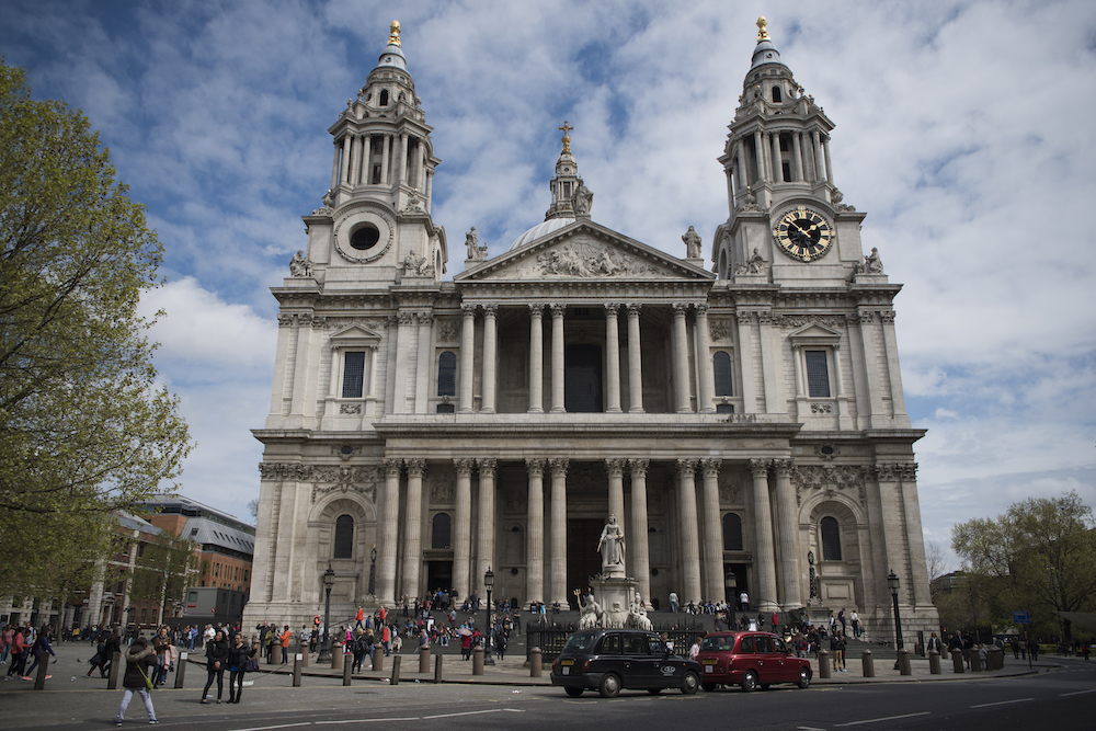 West Front of St Paul's Cathedral in London. Photo Credit: © Nicky Rochussen.