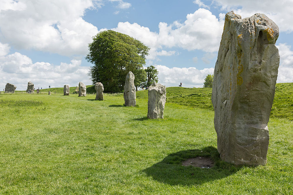 Part of the South Inner Circle of Avebury in Wiltshire, England.  Photo Credit: © Diliff via Wikimedia Commons.