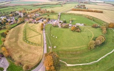 UNESCO World Heritage Site: Avebury Stone Circle. Photo Credit: © Detmar Owen via Wikimedia Commons.