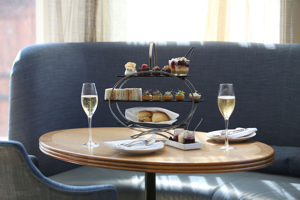 Royal Tea at the Corner Restaurant and Champagne Bar, Selfridges in London. Photo Credit: © Gareth Davies via Selfridges & Co.