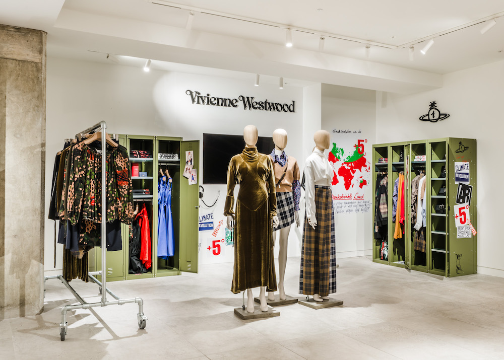 Vivienne Westwood Pop Up at Selfridges. Photo Credit: © Tom D Morgan via Selfridges & Co.