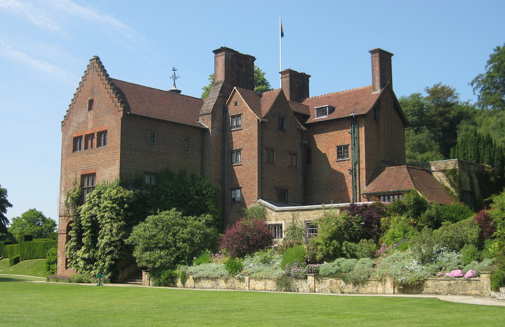 Chartwell House - Family home and garden of Sir Winston Churchill. Photo Credit: © Public Domain via Wikimedia Commons.