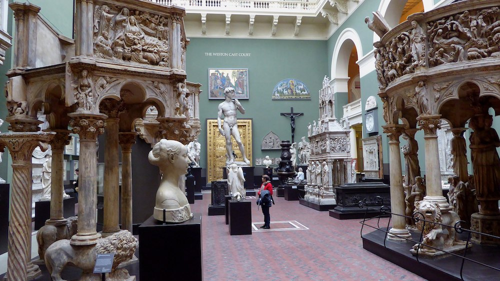 Cast Court at the Victoria & Albert Museum in London.  Photo Credit: © Ethan Doyle White via Wikimedia Commons.