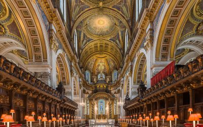 The choir at St Paul's Cathedral looking east. Photo Credit: © Diliff via Wikimedia Commons.