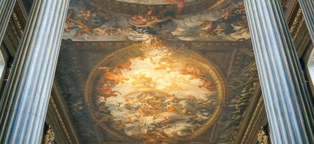 The Painted Hall in Greenwich, London. Photo Credit: © Depthcharge101 via Wikimedia Commons.