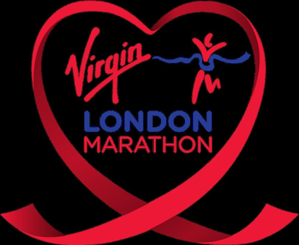 Virgin London Marathon logo. Photo Credit: ©Virgin London Marathon.